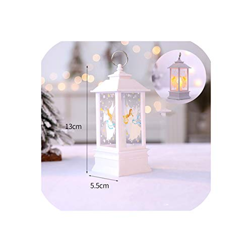 Sweet-Cupid Christmas Decorations for Home 1 pcs Christmas Candle with Candles Christmas Tree Decoration Kerst Decoratie,Blue
