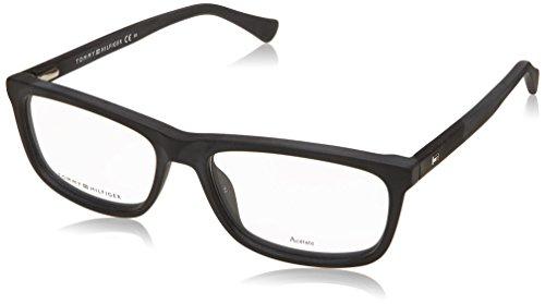 Tommy Hilfiger TH 1526 003 54 Gafas de Sol, Negro (Matt Black), Hombre