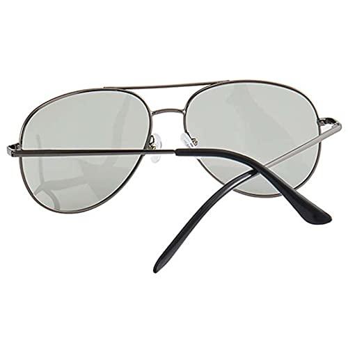 Beifeng Gafas de sol polarizadas con marco de metal ligero para protección solar gafas especiales para mujeres y hombres