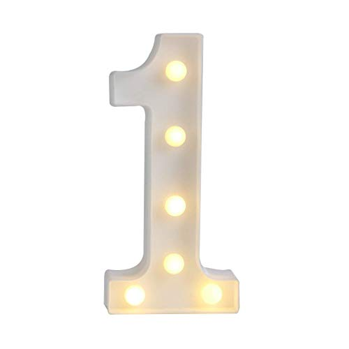 Sunnyglade Decorative LED Letter Lights Sign,Light Up Marquee Letters for Wall Wedding Birthday Party Christmas Home Bar Decoration(1)