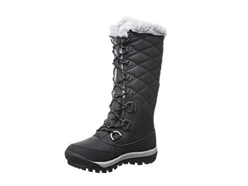 BEARPAW Women's Isabella Snow Boot (9, Black)