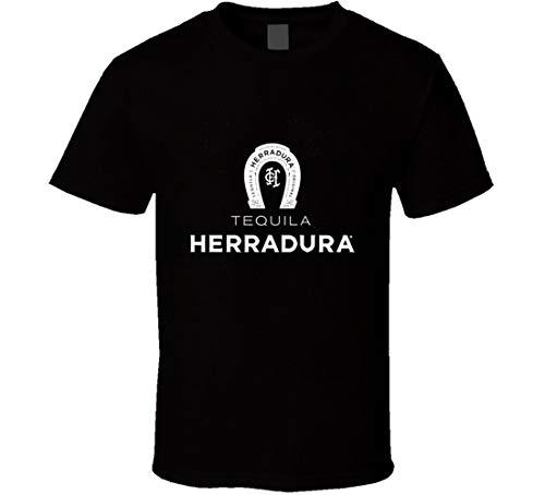 LUYU T-Shirt Tequila Herradura Club Swag Liquor Booze Shirts Schwarz Gr. XXL, Schwarz