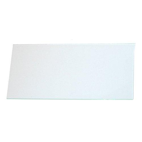 Wedo 10250199X Ersatzscheibe für Notschlüsselkasten, Glas, klar, 6.0 x 0.15 x 12.2 cm