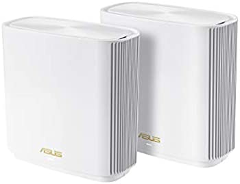 2-Pack Asus ZenWiFi AX6600 Tri-Band Mesh WiFi 6 System