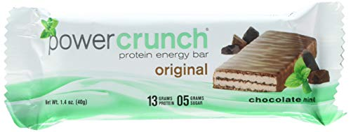 Bionutritional Research Group Power Crunch, Chocolate Mint, 5 Count