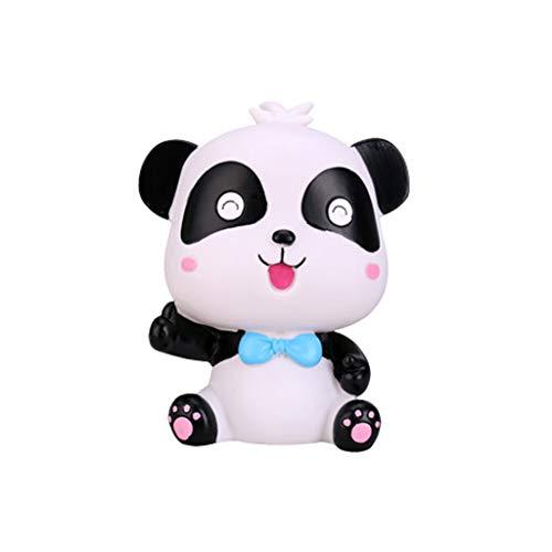 Xiaokeai Panda Linda Hucha de Gran Capacidad Panda Regalo de la Moneda Caja de Ahorros for niños y niñas en Dos Estilos (H7.0 x W5.9) (Color : A)
