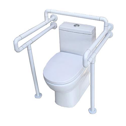 Fire cloud Toilettenhandläufe Behindertengerechtes Badezimmer Tresor und rutschfeste Armlehne aus Edelstahl für Toilettensitze