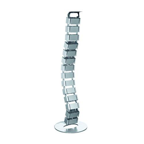 LogiLink kab0065Cable Guía para mesas de Oficina Plata