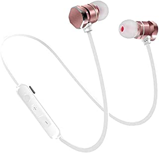 Wireless Earbuds, Magnetic Bluetooth Headphones V5.0 with Build-in Mic Sport Sweatproof Earpiece Noise Cancelling Earphones for Workout/Running Compatible with Samsung Android Cellphones