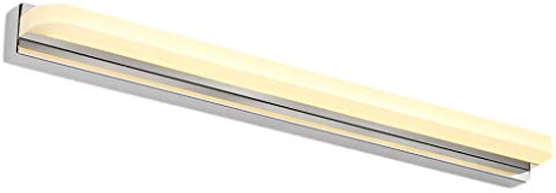 FJH Led Spiegel Licht Badezimmer Wasserdicht Nebel Stilvolle Einfachheit Moderne Spiegel Schrank Licht (Farbe   Warmes weies Licht-92cm 20W)