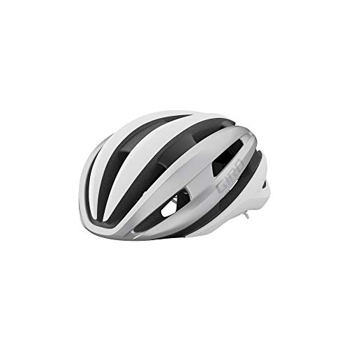 Giro Synthe MIPS II Adult Road Bike Helmet - Matte White/Silver (2021) - Medium (55-59 cm)