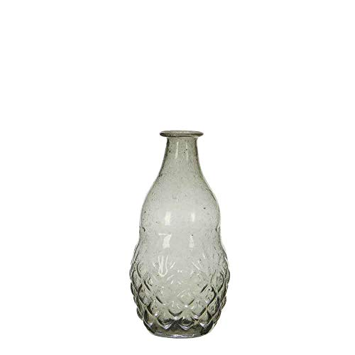 Casa Vivante Vaas Caja glas bruin - 16,5 x Ø 10 cm