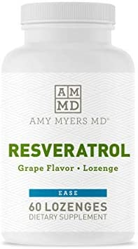 Dr Amy Myers Resveratrol Supplement Powerful Free Radical Scavenger to Support Immune System product image