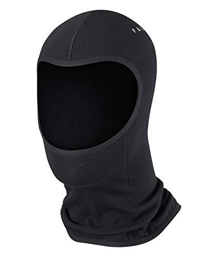 FALKE Unisex Maximum Warm U Face Mask, Schwarz (Black 3000), L-XL EU