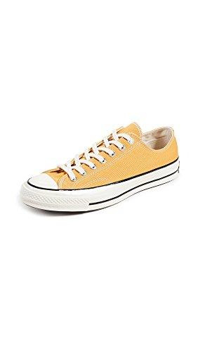 Converse Unisex-Erwachsene Taylor Chuck 70 Ox Sneakers, Mehrfarbig (Sunflower/Black/Egret 721), 39 EU