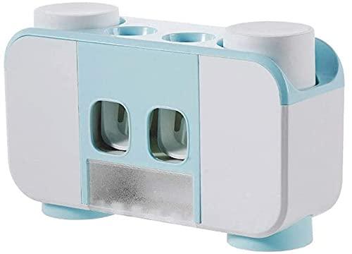 Esterilizador de Cepillo de Dientes Inteligente UV, Soporte Impermeable para Cepillo de Dientes, dispensador automático de Pasta Dental, Accesorios de baño