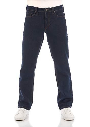 Mustang Jean pour Homme Big sur Regular Fit Denim Stretch Coton Noir Bleu Denim Black Denim Blue W30-w40 - Marron - W32