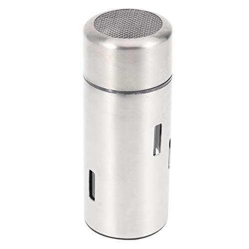 UPKOCH dispensador de condimento de agitador de especias de acero inoxidable recipiente de azúcar de sal pimienta para restaurante hotel dormitorio hogar