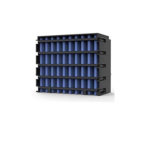 Tragbarer NexFan-Lüfter für Klimaanlage, 4-in-1-USB-Tischlüfter für kleine Verdunstungsluftkühler mit LED-Licht, 3 Geschwindigkeiten, super leiser Luftbefeuchter Nebel-Lüfter
