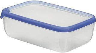 CURVER Boîte Grand Chef - Alimentaire Transparente Rectangulaire Plastique - Grande Capacité 4L - Boîte Conservation Tous ...