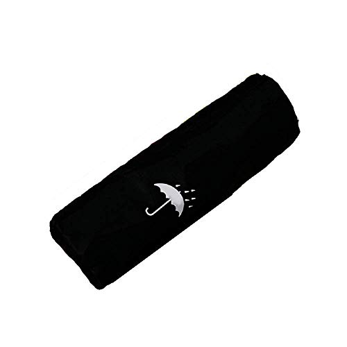 wasserdichte Regenschirm-Tasche mit Kordelzug, schnell trocknende Aufbewahrungstasche Regenschirmhülle schwarz