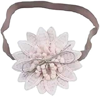 Purple Lace & Pink Flower Hair Accessories for baby girl head band hair band headwear