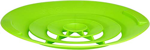 Kamaca Couvercle en silicone anti-débordement - Protection anti-éclaboussures pour casseroles - Utilisation universelle et pratique