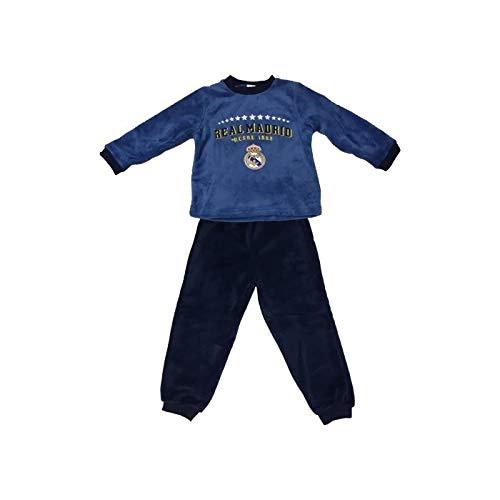 Pijama Coralina Invierno Niño Real Madrid Estrellas (8)