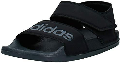 adidas Herren Adilette Sandal Leichtathletik-Schuh, Kern SCHWARZ/GRAU SECHS/Kern SCHWARZ, 42 EU