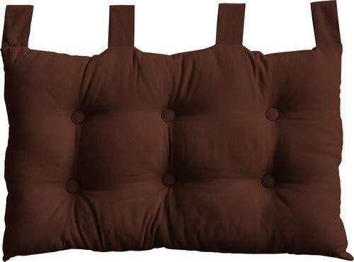 E-Liko - Cabecero de cama para bebé, color marrón