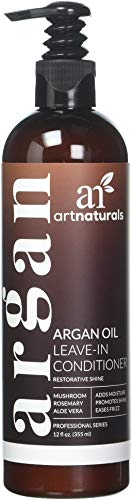 Artnaturals, Organic Argan Oil Leave-In Conditioner, Therapeutic Formula, 12 fl oz (354.9 ml)