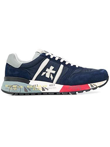 PREMIATA Scarpe Uomo Sneaker camoscio Tessuto Pelle Lander_3756 (41 EU)