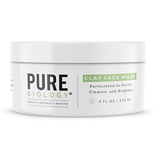Premium Face Mask – Bentonite Clay, Retinol, Collagen Peptides, Kaolin, Vitamins B, C, E –...