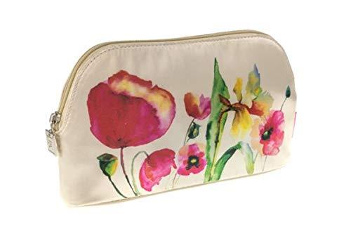 Danielle Creations Trousse Motif floral Aquarelle d'embrayage ovale Taille M