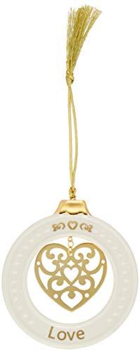Lenox 878972 Sentiment Love Ornament