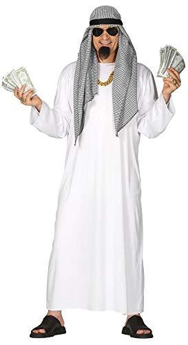 shoperama Arabischer Öl-Scheich Gr. L Herren-Kostüm Araber Orient Sultan Scheich Wüsten-Prinz Morgenland