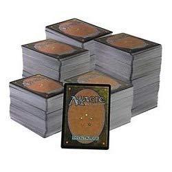 clasificación y comparación Magic The Gathering Un montón de cartas: 500 comunes, 100 raras, 5 raras (español) para casa