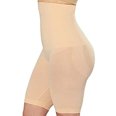 EMPETUA Shapermint High Waisted Body Shaper Shorts - Shapewear for Women Tummy Control Small to Plus-Size Nude