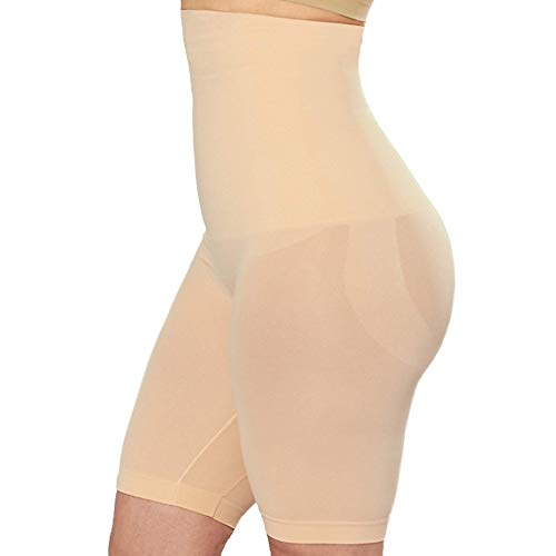 Shapermint High Waisted Body Shaper Shorts - Shapewear for Women Tummy Control Small to Plus-Size Nude Small