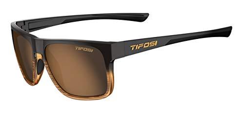 Tifosi Unisex Swick Sunglasses Sonnenbrille, Braune Linse, Einheitsgröße
