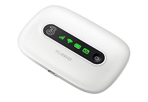 Huawei E5331 MIFI Wifi Router Modem 21Mbit UK-import + branding. wit