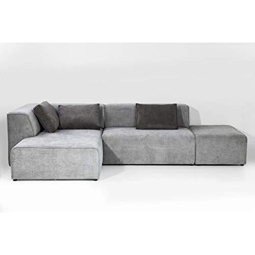 Kare Design Sofa Infinity Samt Taupe Rechts