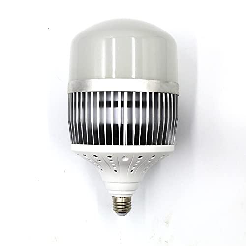 200W E27/E40 LED Bulb Light, 6000K Daylight White, 25000 Lumen Super Bright for Indoor Outdoor Business, Industry & Science Garage Porch Garden Warehouse Workshop Street Backyard (E27-6500K,100W)