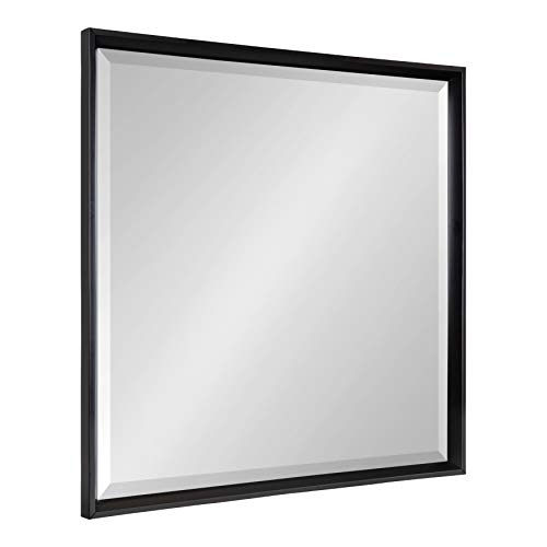 Kate and Laurel Calter Framed Square Wall Mirror, 29.5 x 29.5, -