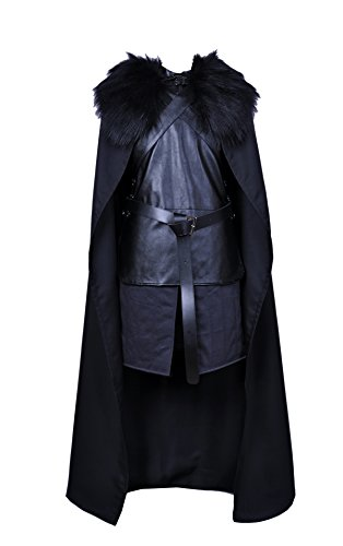 CosTop Game of Thrones Jon Snow Knights Watch Cosplay Costume for Man and Child