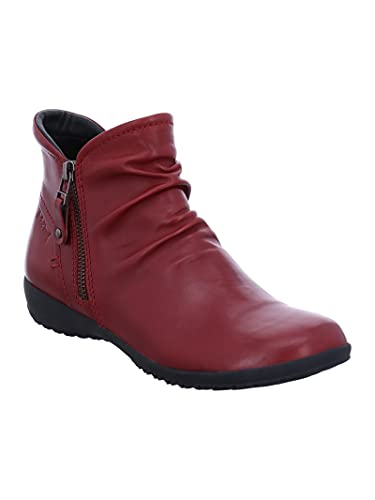 Josef Seibel Damen Klassische Stiefeletten Naly 41,Weite G (Normal),Lady,Ladies,Boots,Stiefel,Bootee,Booties,halbstiefel,Rot (Carmin),41 EU / 7 UK