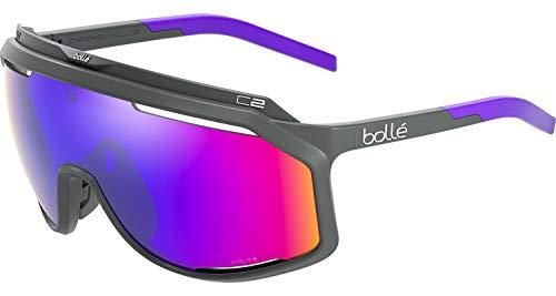 bollé BS018002 Chronoshield Sunglasses, Titanium Matte - Volt+ Ultraviolet Cat 4
