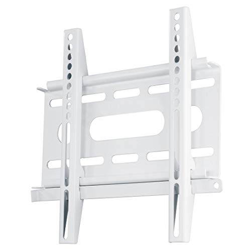 Hama - Fix Ultraslim - Soporte de pared televisor, para pantalla de 19' - 37', color blanco