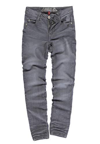 Lemmi Mädchen Jeggings Girls Slim Jeans, Grau (Grey Denim|Gray 0016), (Herstellergröße: 176)