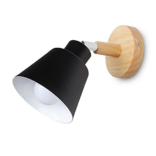 Yinyimei Lámpara de Pared Lámpara de Pared de Madera Interruptor de Pared Luces de Pared Luz de luz de la Pared para la Cocina Restaurante Moderna lámpara de Pared Lámparas de Pared nórdicas